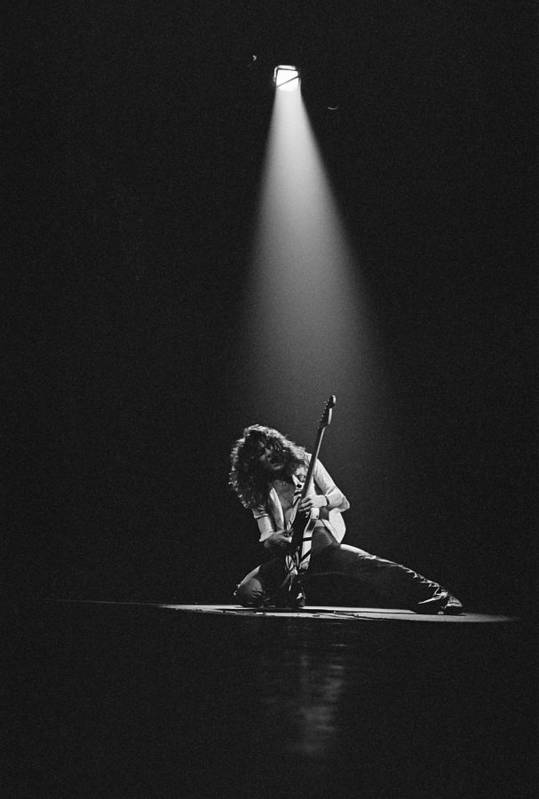 1980-1989 Art Print featuring the photograph Van Halen Live At The Rainbow by Fin Costello