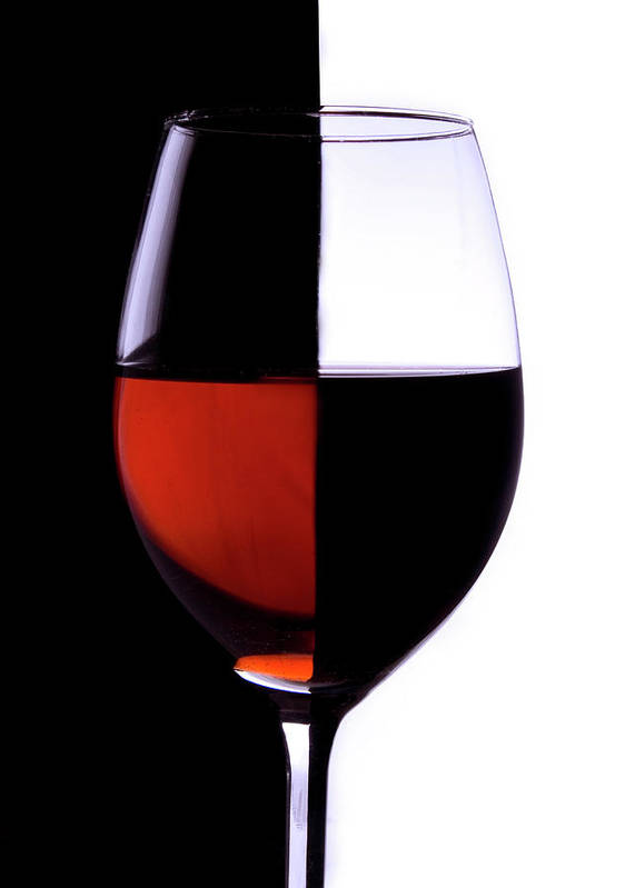 Alcohol Art Print featuring the photograph Wineglass by Portishead1