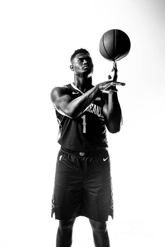 Nba Pro Basketball Art Print featuring the photograph Zion Williamson by Sean Berry