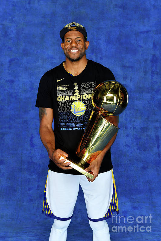 Playoffs Art Print featuring the photograph Andre Iguodala by Jesse D. Garrabrant