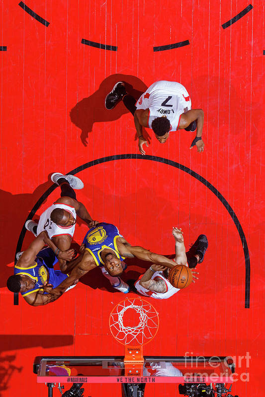 Playoffs Art Print featuring the photograph Andre Iguodala by Mark Blinch