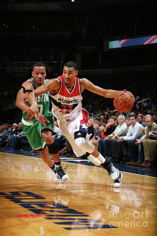 Nba Pro Basketball Art Print featuring the photograph Avery Bradley by Ned Dishman