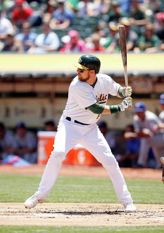 People Art Print featuring the photograph Ben Zobrist by Ezra Shaw