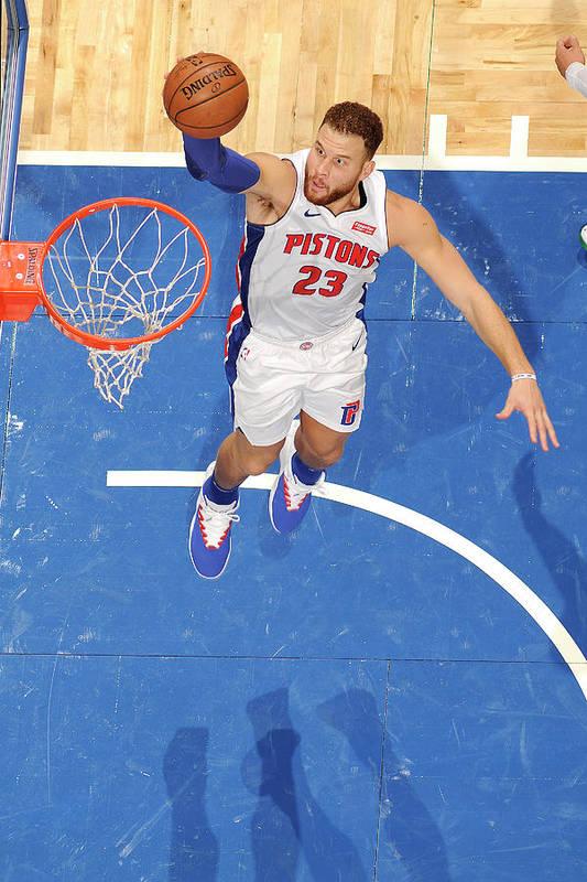 Nba Pro Basketball Art Print featuring the photograph Blake Griffin by Fernando Medina