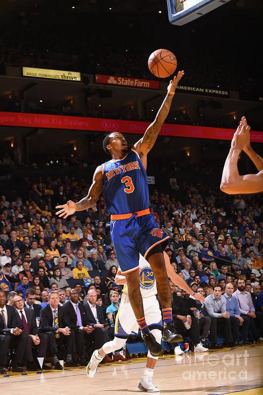 Nba Pro Basketball Art Print featuring the photograph Brandon Jennings by Noah Graham