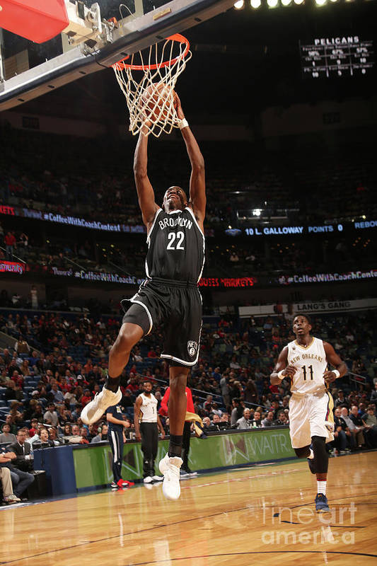Smoothie King Center Art Print featuring the photograph Caris Levert by Layne Murdoch