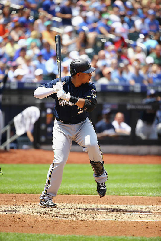 People Art Print featuring the photograph Carlos Gomez by Al Bello
