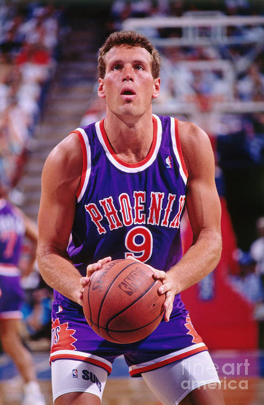 Nba Pro Basketball Art Print featuring the photograph Dan Majerle by Rocky Widner