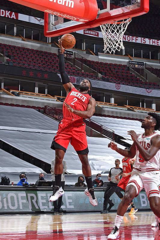 Nba Pro Basketball Art Print featuring the photograph David Nwaba by Randy Belice
