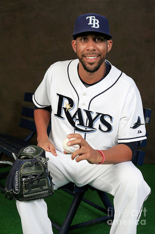 Media Day Art Print featuring the photograph David Price by Rob Carr