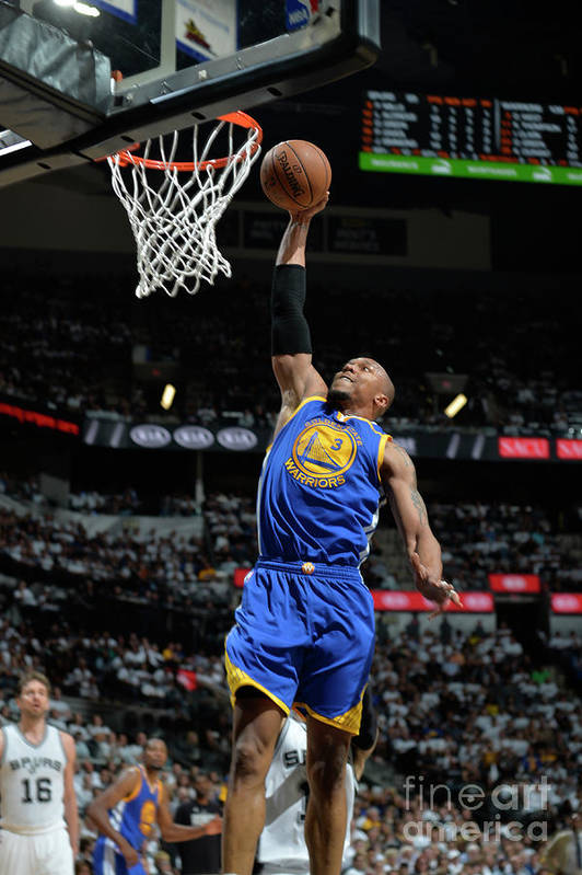 Playoffs Art Print featuring the photograph David West by Mark Sobhani