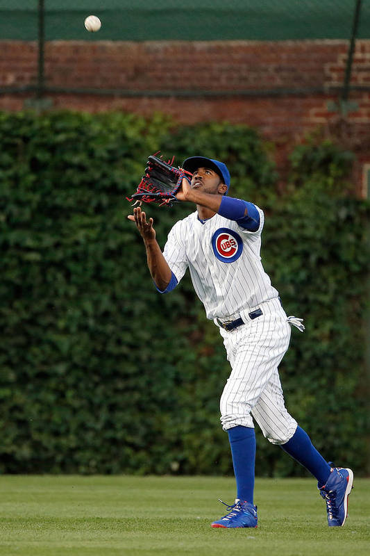 People Art Print featuring the photograph Dexter Fowler by Jon Durr