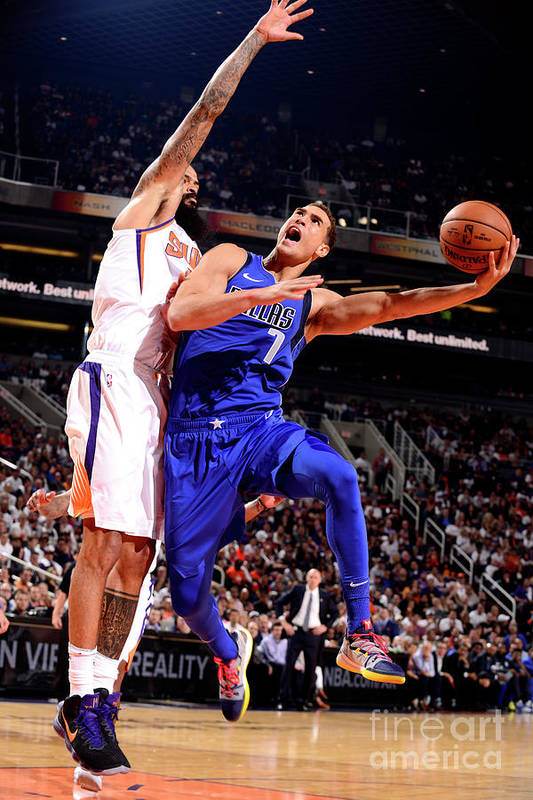 Dwight Powell Art Print featuring the photograph Dwight Powell by Barry Gossage
