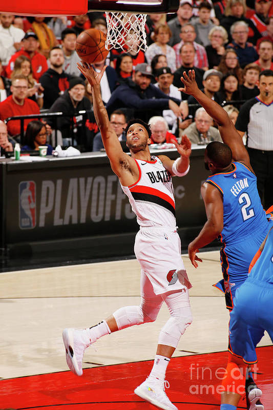 Playoffs Art Print featuring the photograph Evan Turner by Cameron Browne
