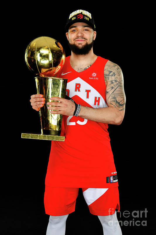 Playoffs Art Print featuring the photograph Fred Vanvleet by Jesse D. Garrabrant