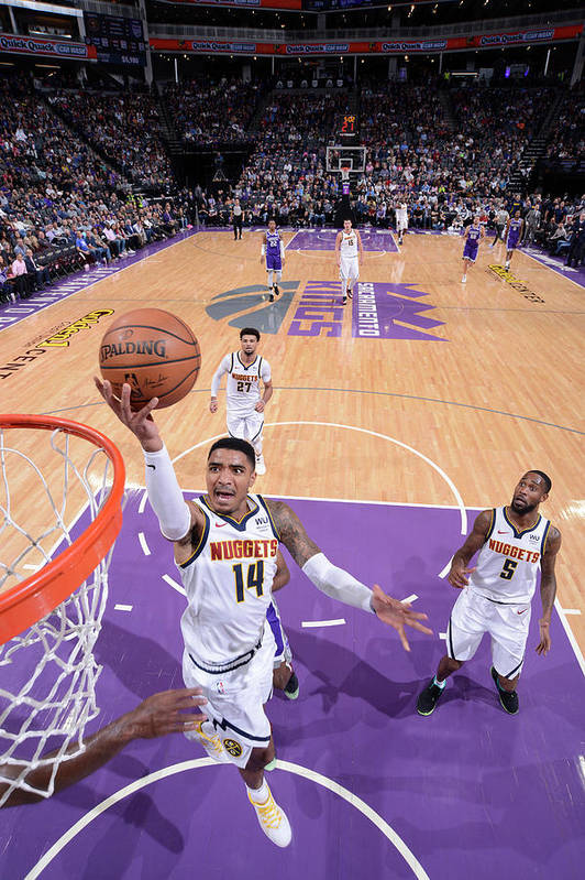 Nba Pro Basketball Art Print featuring the photograph Gary Harris by Rocky Widner