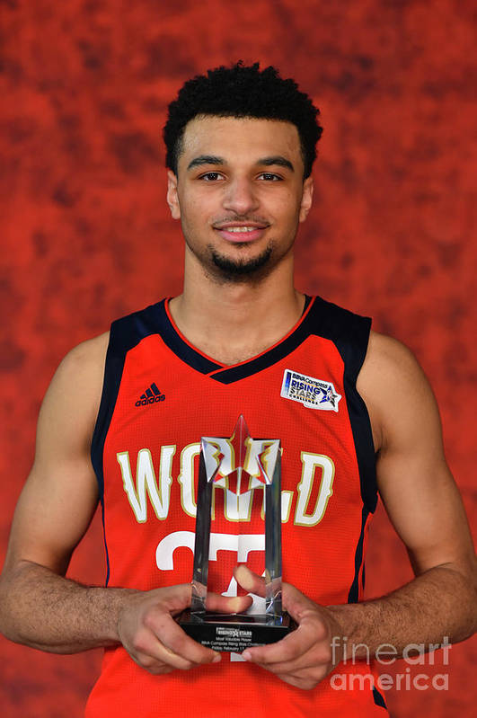 Smoothie King Center Art Print featuring the photograph Jamal Murray by Jesse D. Garrabrant
