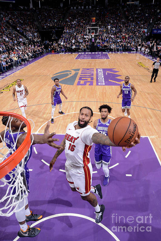 Nba Pro Basketball Art Print featuring the photograph James Johnson by Rocky Widner