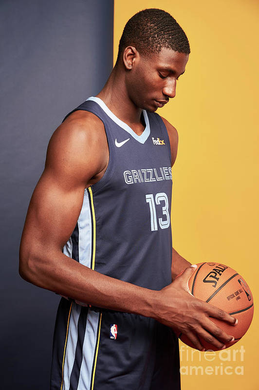 Nba Pro Basketball Art Print featuring the photograph Jaren Jackson by Jennifer Pottheiser