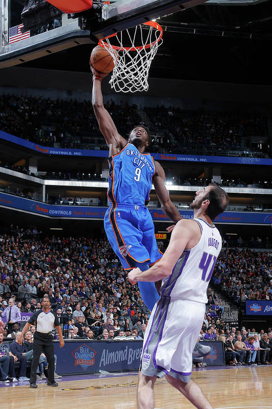 Nba Pro Basketball Art Print featuring the photograph Jerami Grant by Rocky Widner