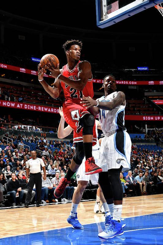 Nba Pro Basketball Art Print featuring the photograph Jimmy Butler by Fernando Medina