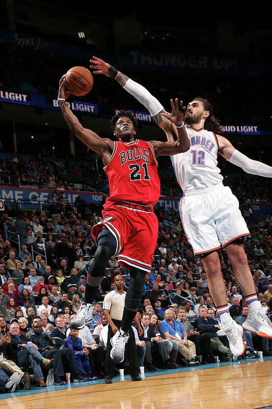Nba Pro Basketball Art Print featuring the photograph Jimmy Butler by Layne Murdoch
