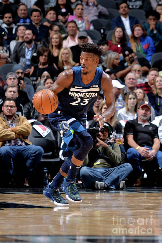 Nba Pro Basketball Art Print featuring the photograph Jimmy Butler by Mark Sobhani