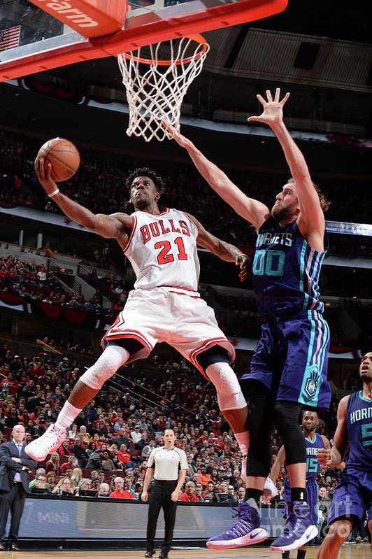 Nba Pro Basketball Art Print featuring the photograph Jimmy Butler by Randy Belice
