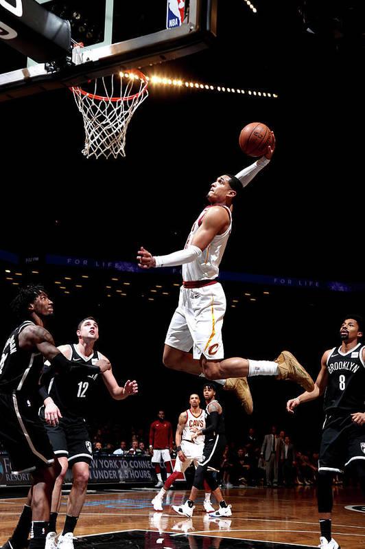 Nba Pro Basketball Art Print featuring the photograph Jordan Clarkson by Nathaniel S. Butler