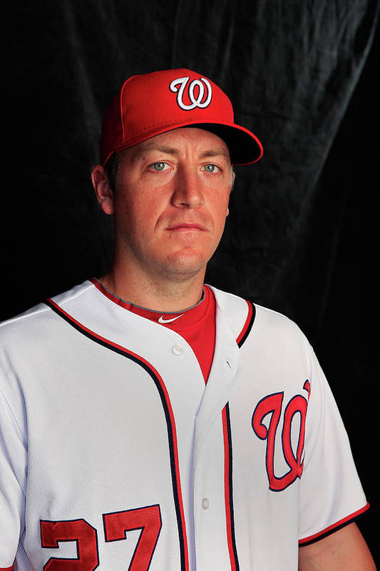 Media Day Art Print featuring the photograph Jordan Zimmermann by Rob Carr