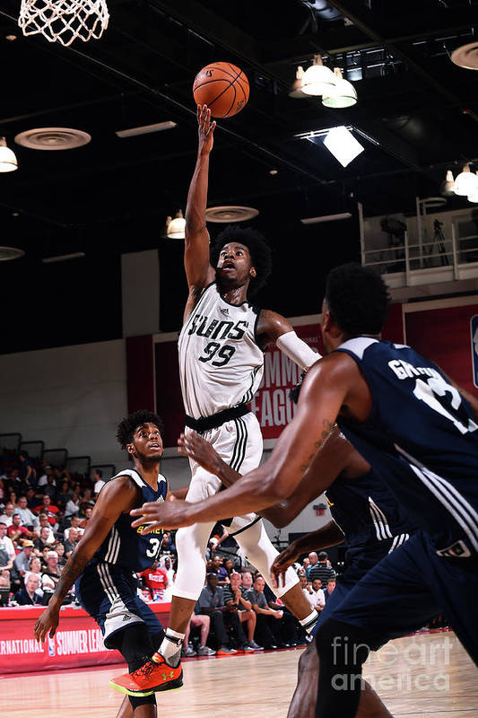 Nba Pro Basketball Art Print featuring the photograph Josh Jackson by Noah Graham