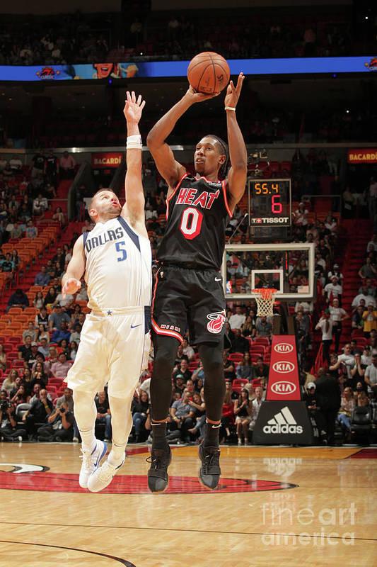 Nba Pro Basketball Art Print featuring the photograph Josh Richardson by Oscar Baldizon
