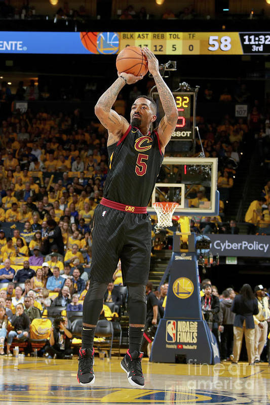 Playoffs Art Print featuring the photograph J.r. Smith by Nathaniel S. Butler