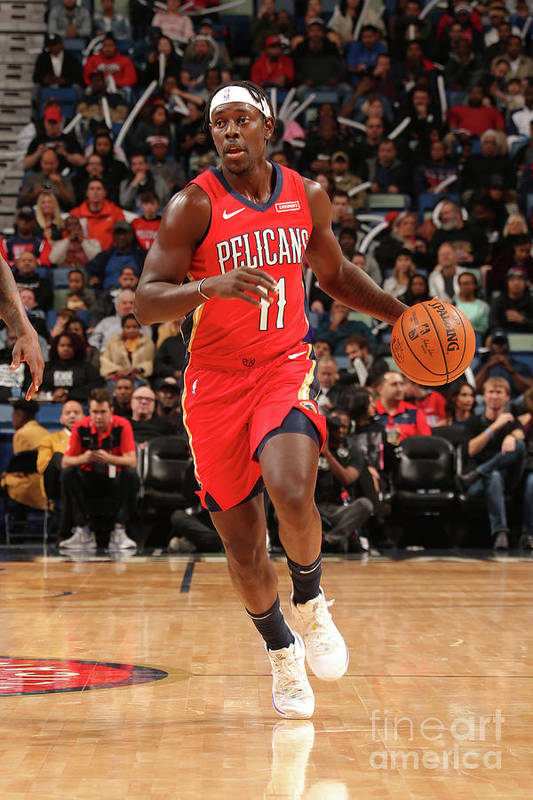 Smoothie King Center Art Print featuring the photograph Jrue Holiday by Layne Murdoch Jr.