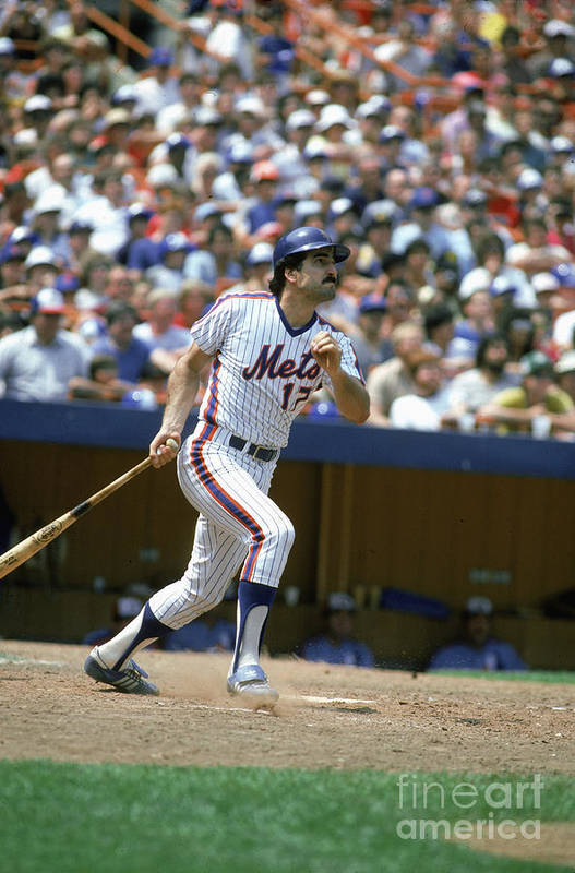 1980-1989 Art Print featuring the photograph Keith Hernandez by Rich Pilling