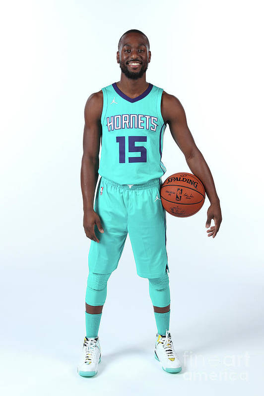Media Day Art Print featuring the photograph Kemba Walker by Kent Smith