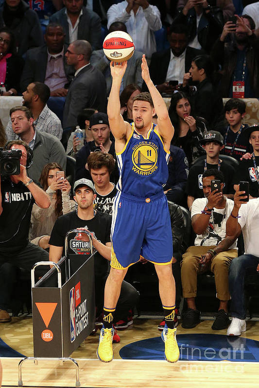 Event Art Print featuring the photograph Klay Thompson by Layne Murdoch