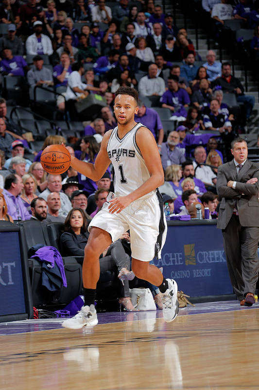 Nba Pro Basketball Art Print featuring the photograph Kyle Anderson by Rocky Widner
