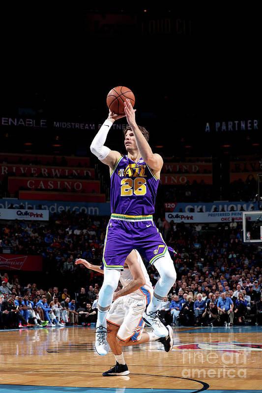 Nba Pro Basketball Art Print featuring the photograph Kyle Korver by Joe Murphy