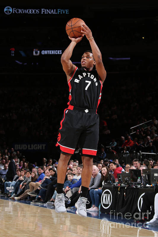 Nba Pro Basketball Art Print featuring the photograph Kyle Lowry by Nathaniel S. Butler