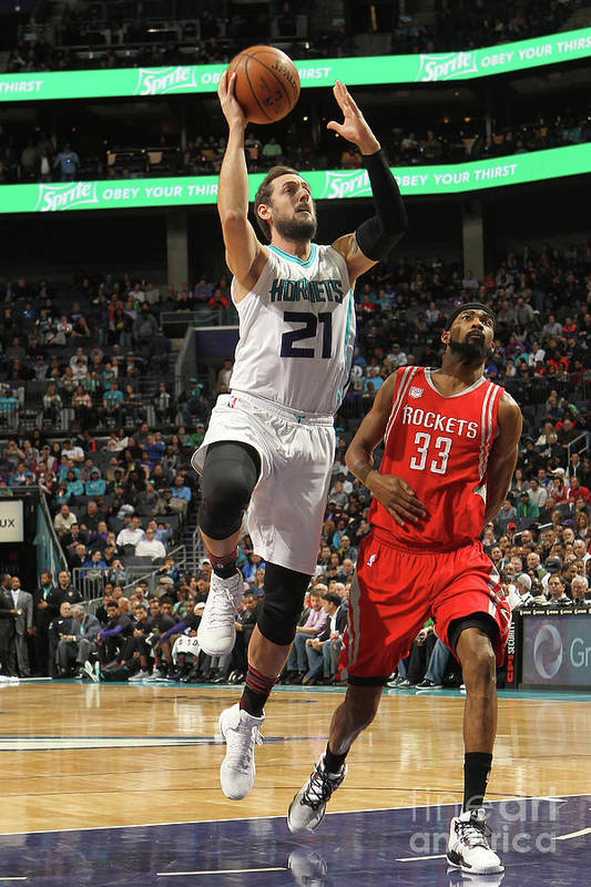Nba Pro Basketball Art Print featuring the photograph Marco Belinelli by Brock Williams-smith