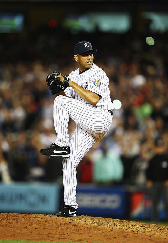 Ninth Inning Art Print featuring the photograph Mariano Rivera by Al Bello