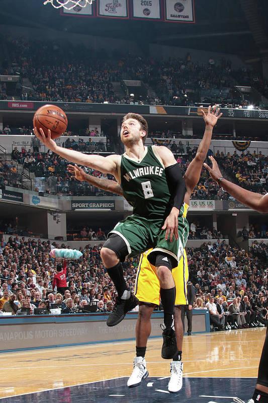 Nba Pro Basketball Art Print featuring the photograph Matthew Dellavedova by Ron Hoskins