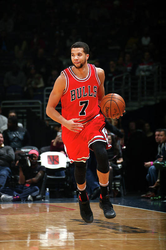 Nba Pro Basketball Art Print featuring the photograph Michael Carter-williams by Ned Dishman