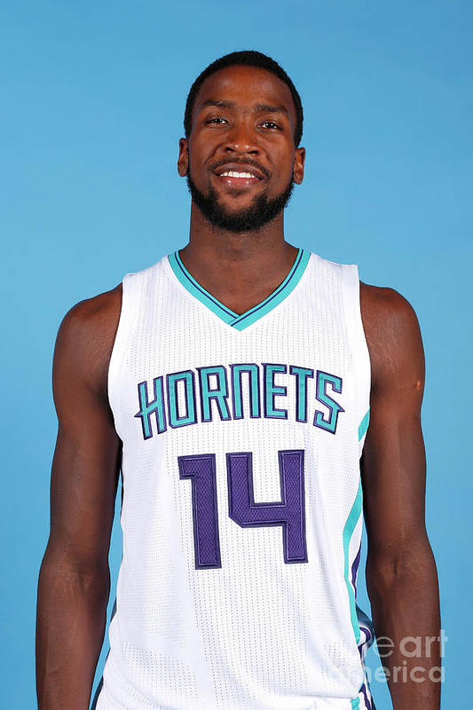 Media Day Art Print featuring the photograph Michael Kidd-gilchrist by Brock Williams-smith