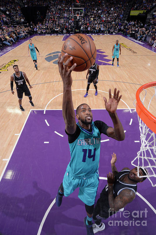 Nba Pro Basketball Art Print featuring the photograph Michael Kidd-gilchrist by Rocky Widner