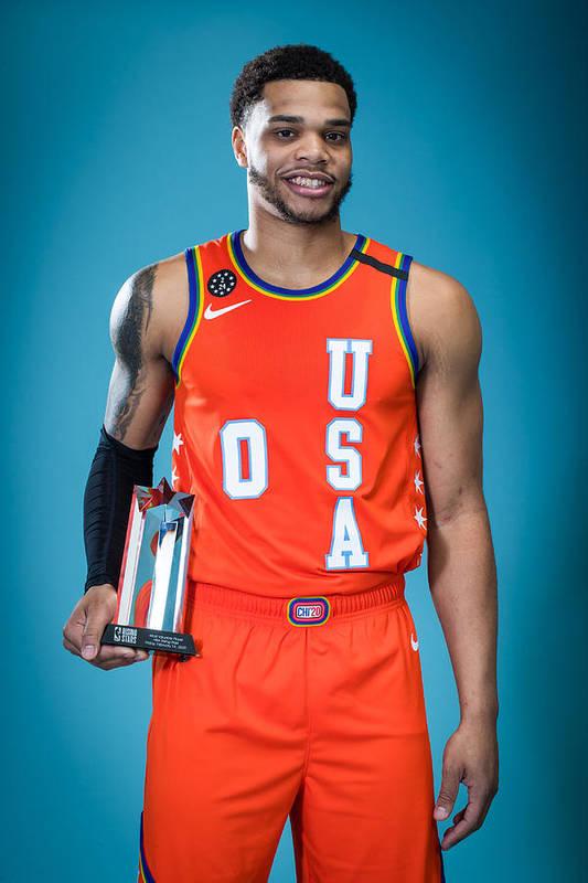 Nba Pro Basketball Art Print featuring the photograph NBA Rising Stars Challenge by Michael J. LeBrecht II