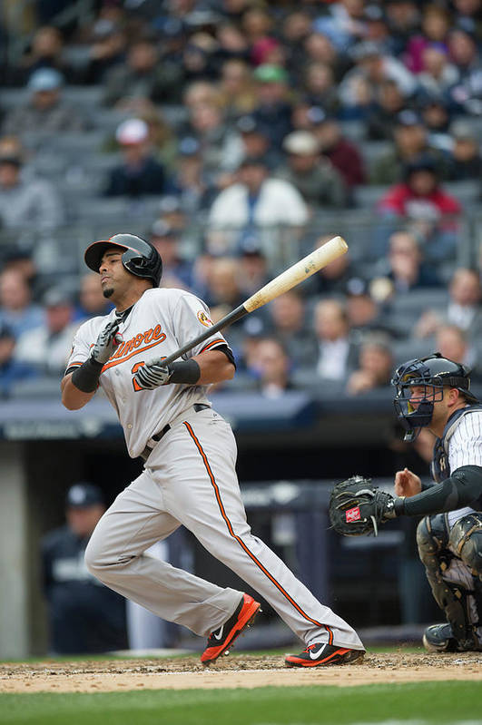 East Art Print featuring the photograph Nelson Cruz by Rob Tringali