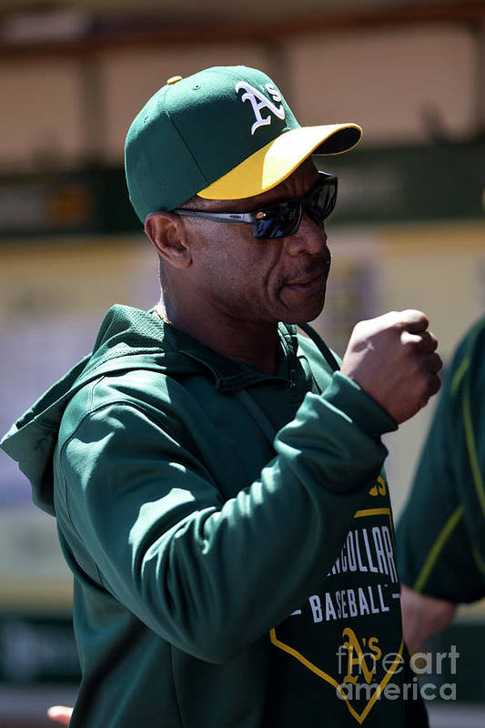 People Art Print featuring the photograph Rickey Henderson by Jason O. Watson