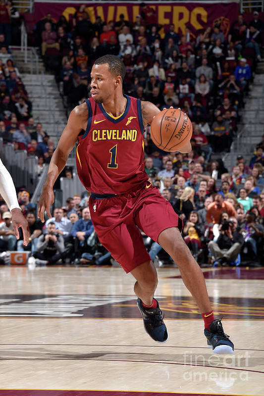 Nba Pro Basketball Art Print featuring the photograph Rodney Hood by David Liam Kyle
